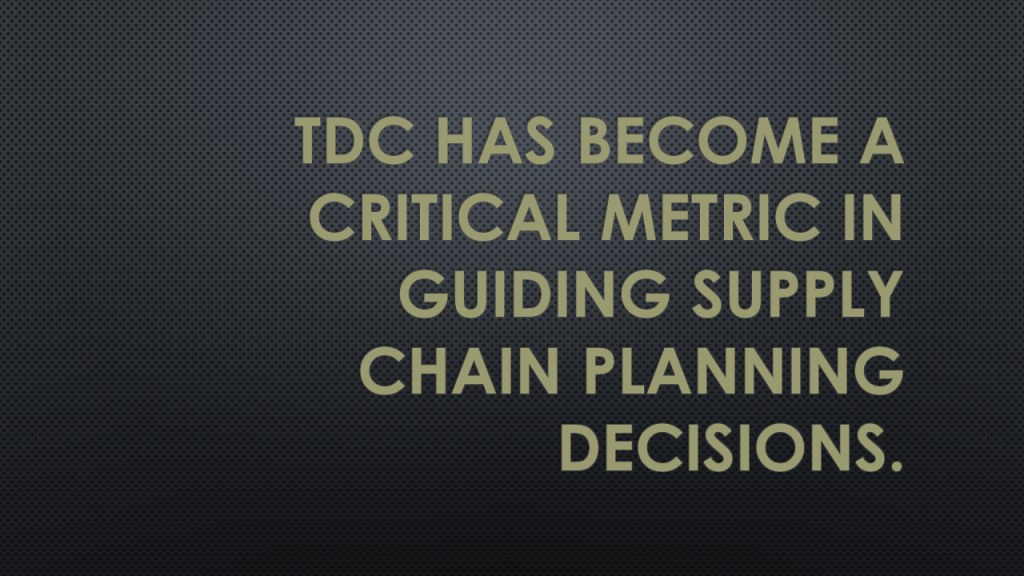 Total Delivered Cost or TDC has become a critical metric in guiding supply chain planning decisions. You and your analyst need to decide what tools work best. Profit Point – It's not just our experience in improving supply chains or our focus on the benefits, it's how we do it.